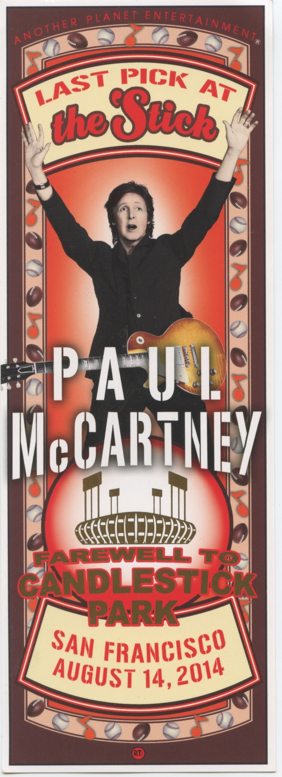 The Beatles Polska: Paul McCartney zagra na stadionie Candlestick Park!