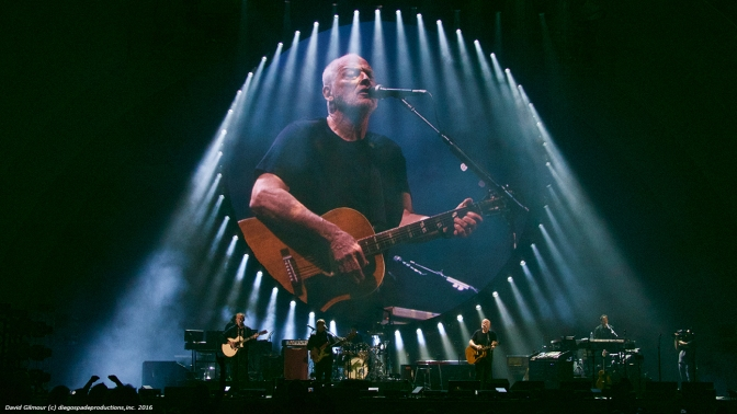 David Gilmour at the Hollywood Bowl