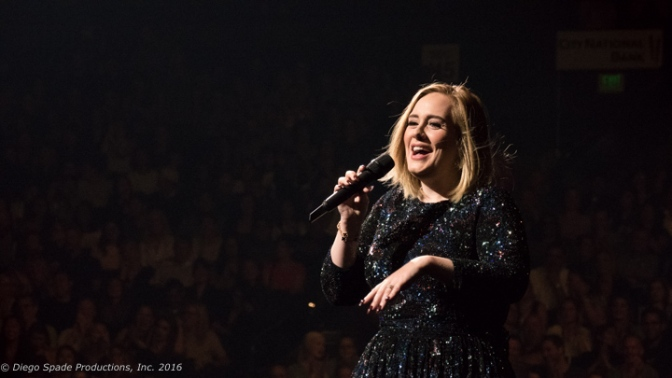 "Adele Says ""Hello"""