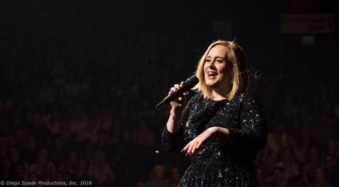 """Adele Says """"Hello"""""""