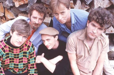 Split Enz Vol_III Band Photo